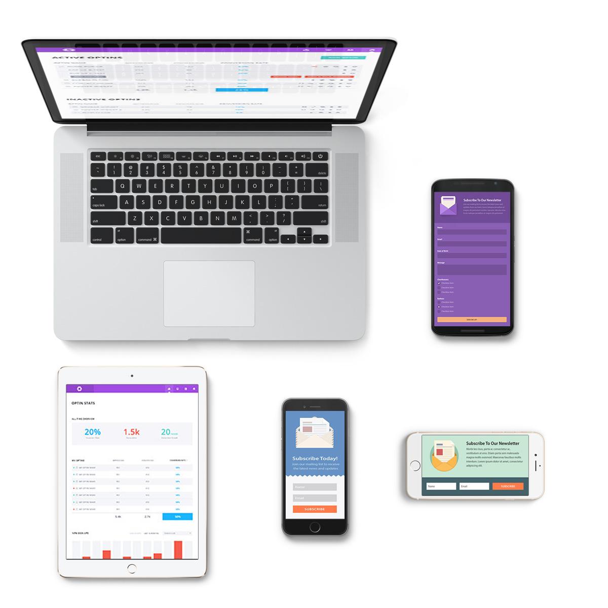 e-mail markedsføring på alle platforme